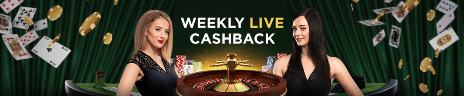 Cashback w kasynie GGBET